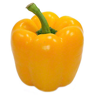 Fresh Organic Gold Bell Peppers,LB
