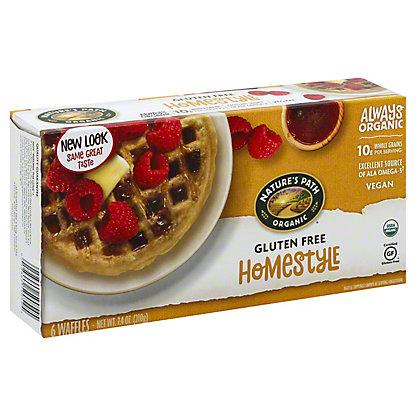 Nature's Path Organic Home Style Gluten Free Waffles, 6 ct
