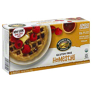Nature's Path Organic Home Style Gluten Free Waffles, 6 ct
