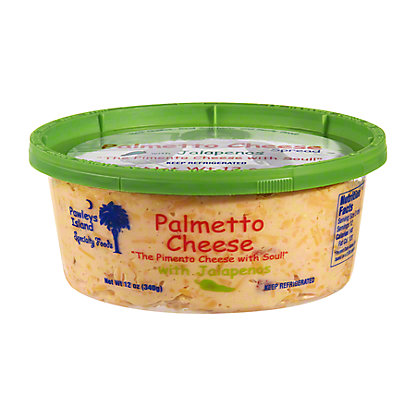 Pawleys Island Specialty Foods Palmetto Cheese Spread with Jalapenos,12OZ