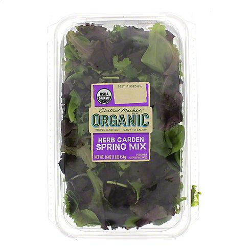 Central Market Organics Herb Garden Spring Mix, 16 OZ