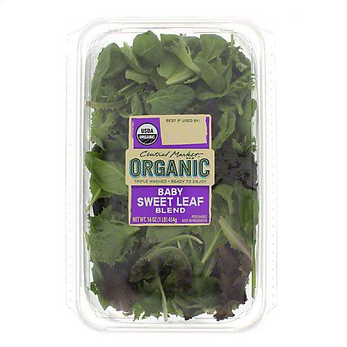 Central Market Organics Baby Sweet Leaf Spring Mix, 16 OZ