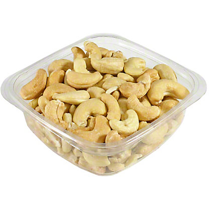 Unsalted roasted cashews, LB