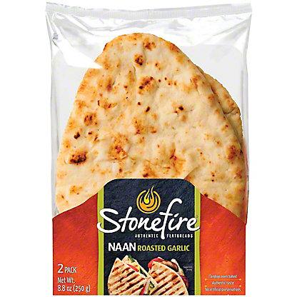 Stonefire Garlic Naan,8.8 OZ