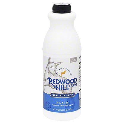 Redwood Hill Farm Plain Cultured Goat Milk Kefir,32 oz