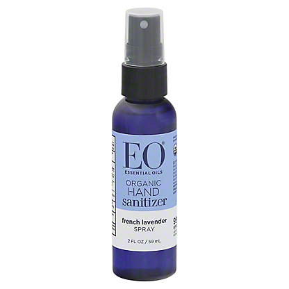 EO Lavender Hand Sanitizing Spray, 2 oz