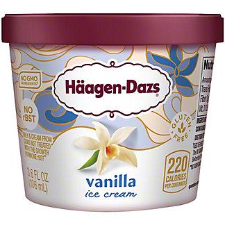 Haagen-Dazs Vanilla Ice Cream, 3.4 oz