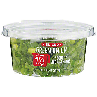 H-E-B Sliced Green Onions, 4 oz