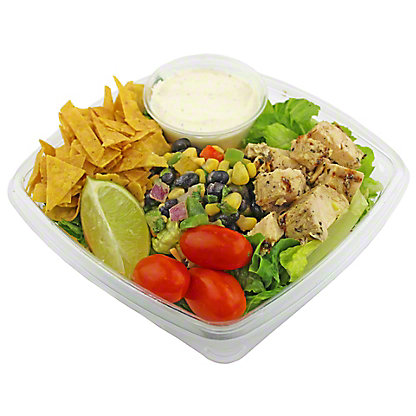 Central Market Chicken Fajita Salad, EACH