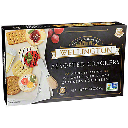 Wellington Assorted ABC Crackers, 8.80 oz