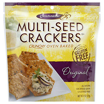 Crunchmaster Multi-Seed Original Crackers, 4.5 oz