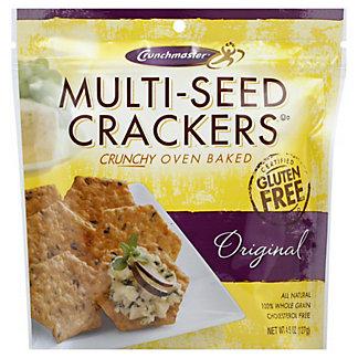 Crunchmaster Multi-Seed Original Crackers, 4.5 oz