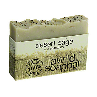 A Wild Soap Bar Desert Sage Bar Soap,3.5 OZ