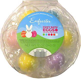 Enfusia Eggbomb Handmade Fizz and Foam Bath Bomb, EACH