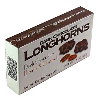LAMMES Lammes Candies Mini Box Dark Chocolate Longhorns,1.5OZ