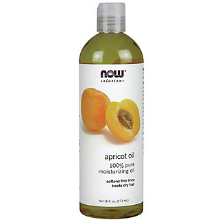 NOW Apricot Kernel Oil Refined, 16.0 oz