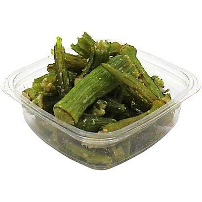 Fresh Okra Chips,sold by the pound