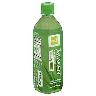 Alo Awaken Aloe & Wheat Grass Beverage,16.9 OZ