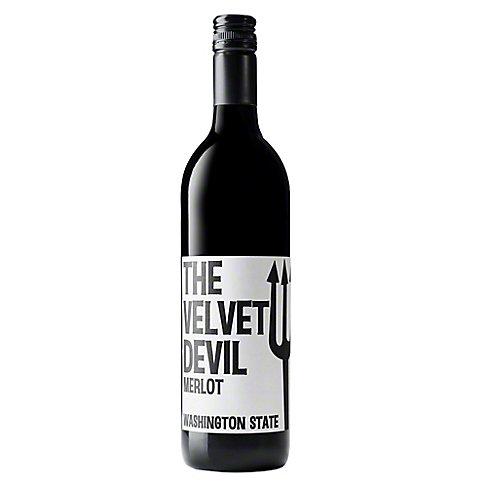 The Velvet Devil Merlot, 750 ML
