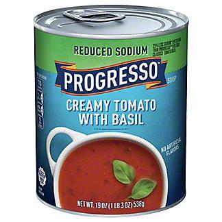 Progresso High Fiber Creamy Tomato Basil Soup,19 oz