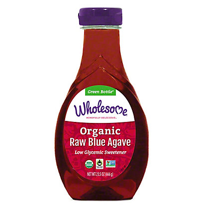 Wholesome Organic Raw Blue Agave, 23.5 oz