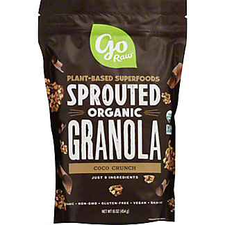 Go Raw 100% Organic Live Chocolate Granola, 16 oz