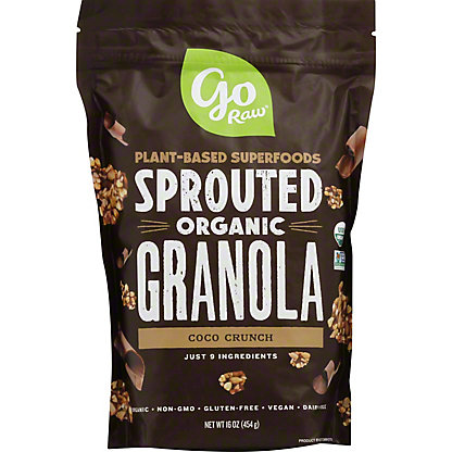Go Raw 100% Organic Live Chocolate Granola, 16 oz