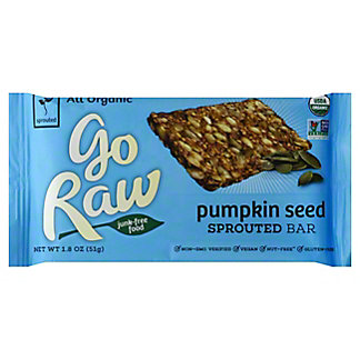 Go Raw Organic Live Pumpkin Bar,1.8 oz