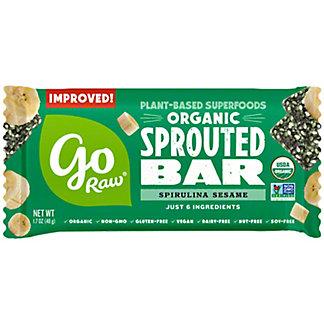 Go Raw Organic Spirulina Energy Bar,1.7 oz