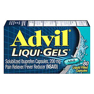 Advil Liqui-Gels, 80 ct