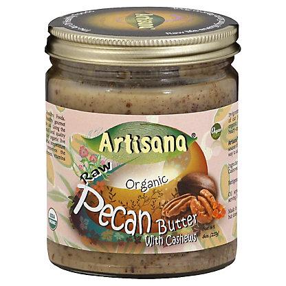 Artisana Raw Organic Pecan Butter with Cashews, 8 oz