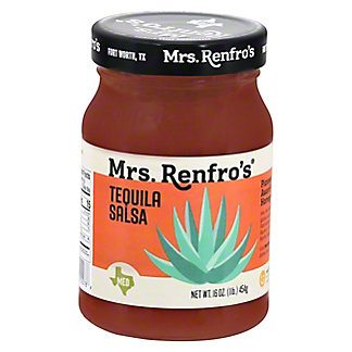 Mrs Renfros Mrs. Renfros Tequila Salsa, 16.00 oz