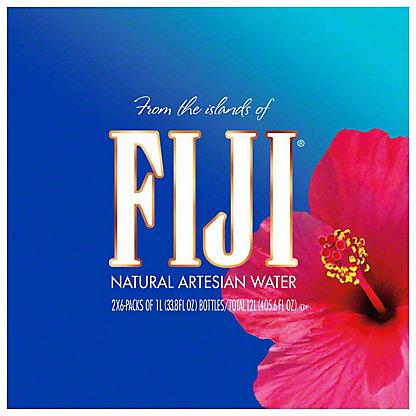 FIJI Fiji Water 2/6pk 1.0 ltr Case,2.00 ea