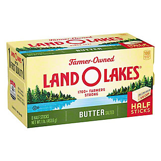 Land O Lakes Land O Lakes Salted Butter 8 CT Half Sticks,1 LB