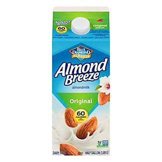 Blue Diamond Almond Breeze Original Almondmilk, 1/2 gal
