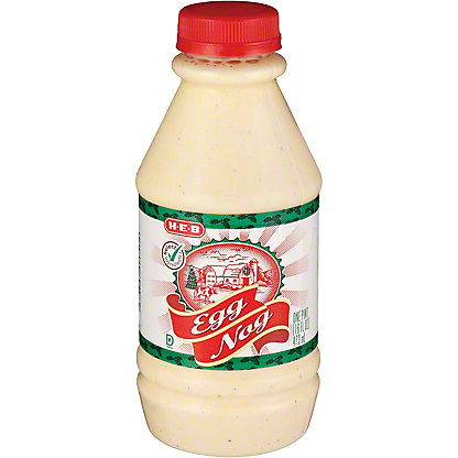 H-E-B Regular Egg Nog,16 OZ