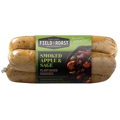 Field Roast Smoked Apple Sage Grain Meat Sausage,13 OZ