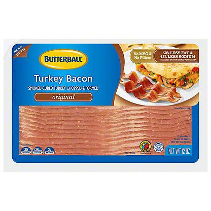 Butterball Original Turkey Bacon,12 oz