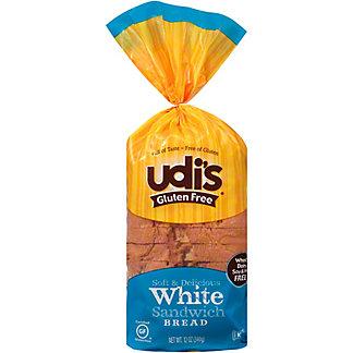 Udi's Gluten Free White Sandwich Bread,12 oz