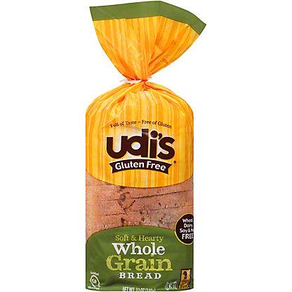 Udi's Gluten Free Whole Grain Bread,12 oz