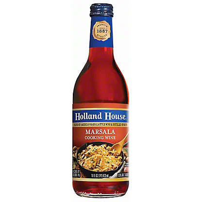 Holland House Marsala Cooking Wine,16 OZ