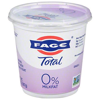 Fage Total 0% Plain Greek Strained Nonfat Yogurt, 35.3 oz