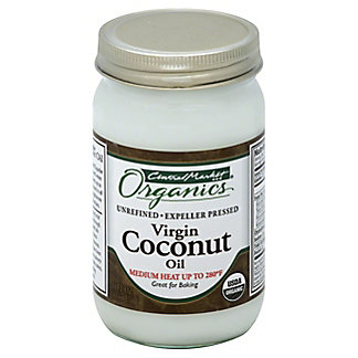 Central Market Organics Unrefined Virgin Coconut Oil, 14 oz