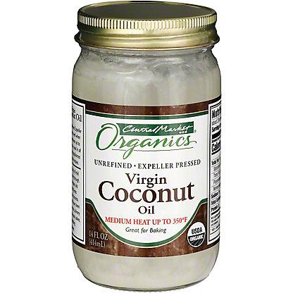 Central Market Organics Unrefined Virgin Coconut Oil, 14 oz