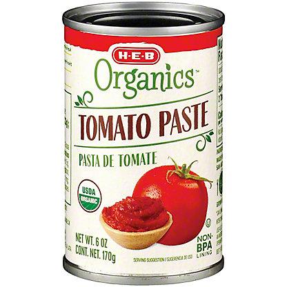 H-E-B Organics Tomato Paste,6 OZ