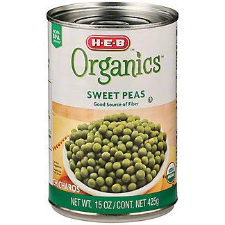 H-E-B Organics Canned Sweet Peas,15 OZ
