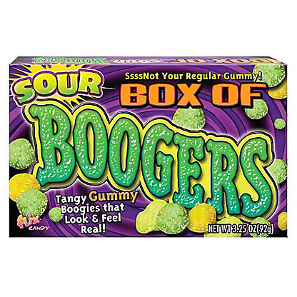 Flix Candies Gummy Box of Boogers,3.25 oz