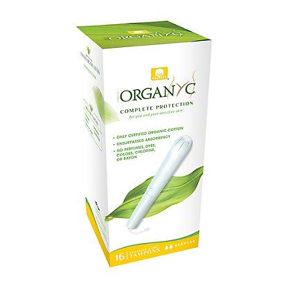 Corman Organyc Regular Sensitive Skins Tampons, 16 ct
