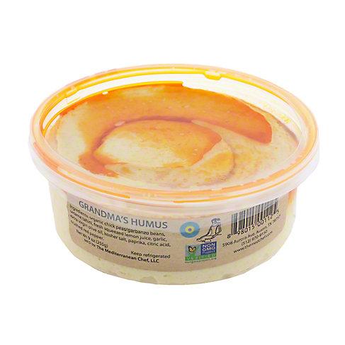The Mediterranean Chef Grandma's Hummus with Organic Garbanzos, 9 OZ