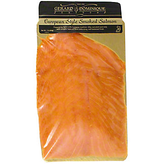 Gerard and Dominique Seafoods European Style Smoked Salmon, 16 oz